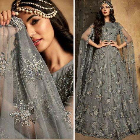 #Indian Women #Ethnic Party Wear #Anarkali Frock #Suits Fancy Designer Salwar Kameez #DESIGNER #AnarkaliGown