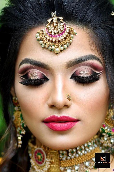 Stunning Bridal Eyes Makeup