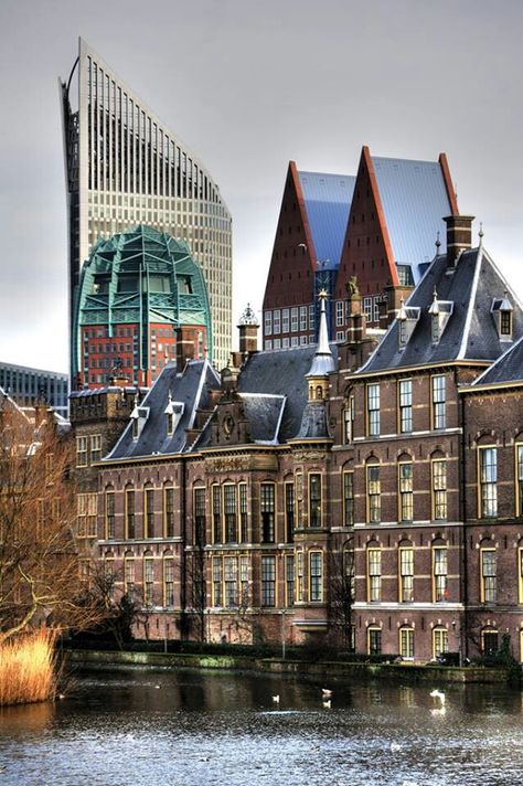 Skyline The Hague, Netherlands... OMG, I can't wait. I cannot wait until May!!!