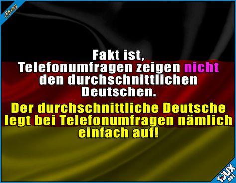 Die Umfragen kann man sich sparen! #Deutschland #deutsch #sowahr #GutenMorgen #Sprüche #lustig #Humor