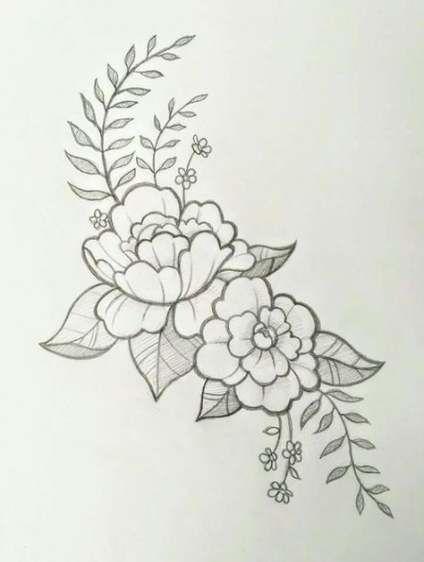 35 Super Ideas For Flowers Tattoo Sketch Design Flower Tattoo Designs Sketch Tattoo Design Flower Tattoo