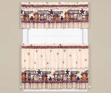 Kitchen Curtains Curtain Sets Big Lots With Images Small Kitchen Layouts