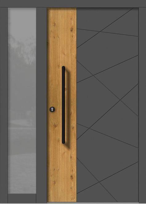 Contemporary Doors | Internal Oak French Doors | Prehung