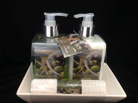 Pure Passion Fine Soap Lotion Olive Sage Set Purepassions