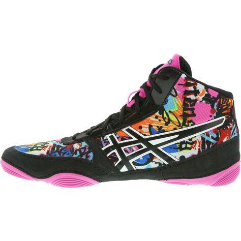 JB V2.0 LE Wrestling Shoes (Black/pink