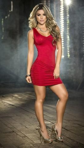 da1ff359873 Sexy Criss Cross Back Lace Mini Dress in 2019 | #1Beautiful blondes ...