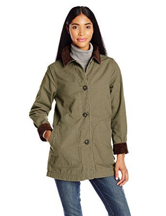 966b4f67aa2 Woolrich Women's Dorrington Barn Jacket Review | Wool & Pea Coats ...