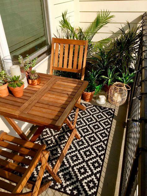 3 Ideas Para Decorar Tu Terraza Con Alfombras Patio Ikea Jardin De Balcon Pequeno Y Patios De Apartamentos