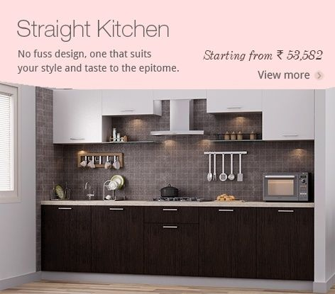 Straight Kitchen | Ideas For The House | Pinterest | Kitchens, Ranges And  Modern