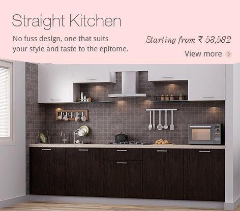Straight Kitchen | Ideas For The House | Pinterest | Kitchens, Kitchen  Design And Ranges