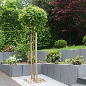 l-steine | außenanlage | pinterest | steine, gärten und gartenideen, Gartenarbeit ideen