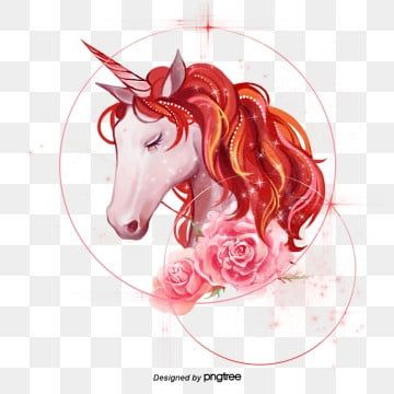 Sparkling Handpainted Flower Unicorn Elements Legend Color Hand Painted Png Transparent Clipart Image And Psd File For Free Download Watercolor Flower Background Hand Painted Unicorn Images