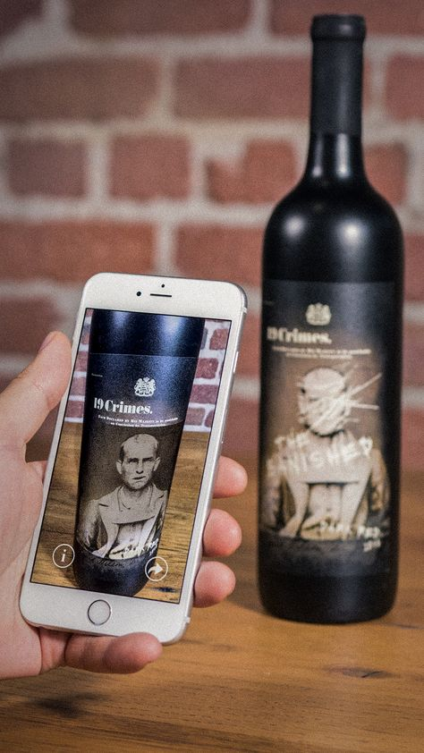 19 Crimes wines is bringing their band of rogues, depicted on the wine labels, to life with the launch of the first-ever wine Augmented Reality (AR) app.