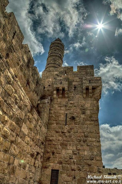 Tower of David . Jerusalem