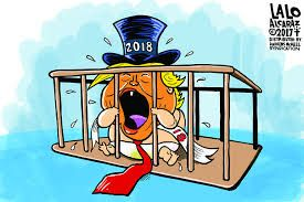 Image Result For Happy New Year Trump Cartoons 2018 Trump