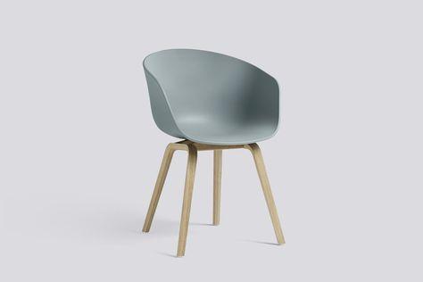 Hay About A Chair Aac 22 Hellblau Gestell Eiche