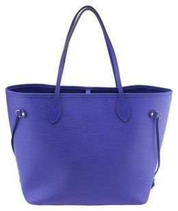 188604093ac2 Louis Vuitton Lv Neverfull Mm Epi Leather Tote in Purple