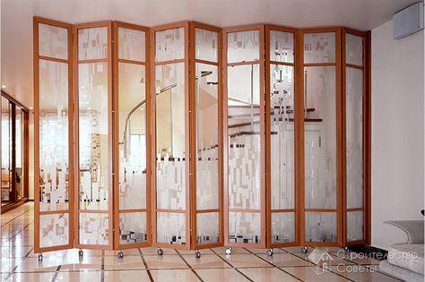 Ширма для комнаты своими руками — изготовление ширмы