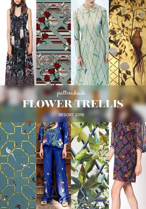 Resort 2018 Print and Pattern Catwalk Trends Part 2 | Patternbank
