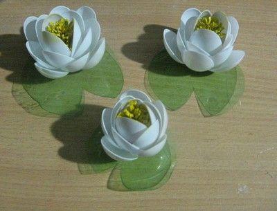 Znalezione Obrazy Dla Zapytania Jak Zrobic Wazon Z Butelki Plastikowej Paper Flowers Plastic Bottle Flowers Diy Flowers