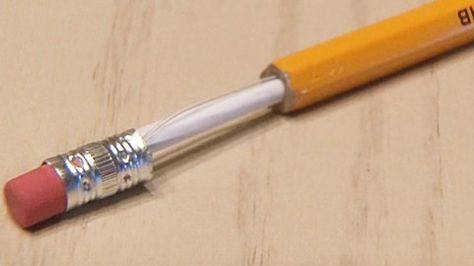 Make This Ultra Cool DIY Pretender Pencil With Hidden Compartment