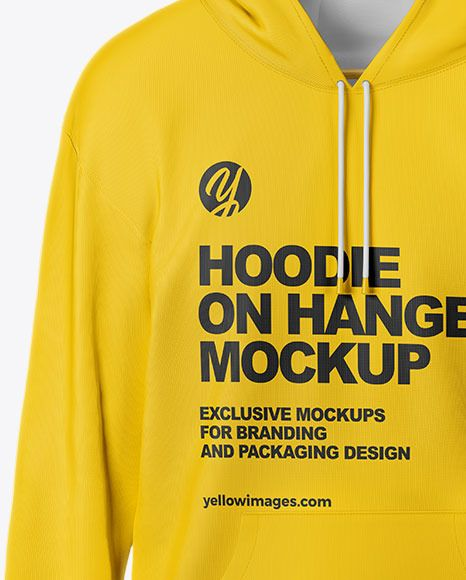 Download Hoodie Mockup Front View In Apparel Mockups On Yellow Images Object Mockups In 2021 Hoodie Mockup Clothing Mockup Hoodies