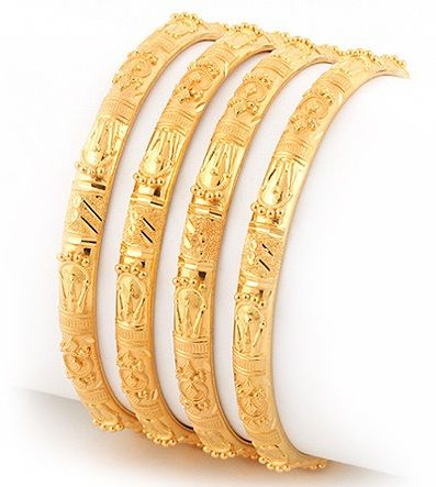 15 Best Collection Of Gold Bangle Designs In 20 Grams Gold Bangles Design Gold Bangles Thin Gold Bangles