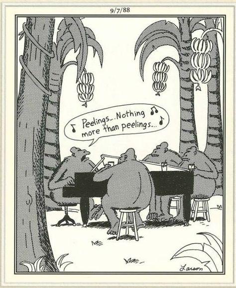 Image result for far side 'peelings' cartoon