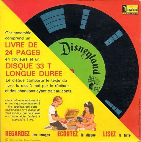 Livres Audio Disney Objets De Ma Jeunesse Childhood