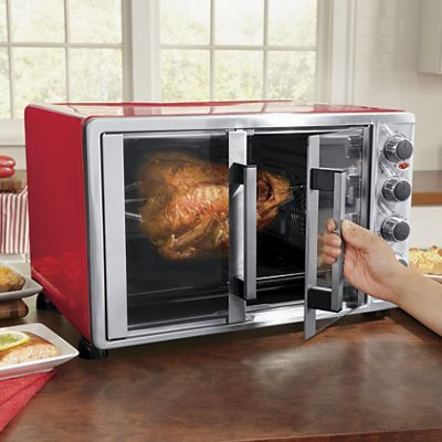 Double Door Toaster Oven With Convection By Ginny S Rotisserie