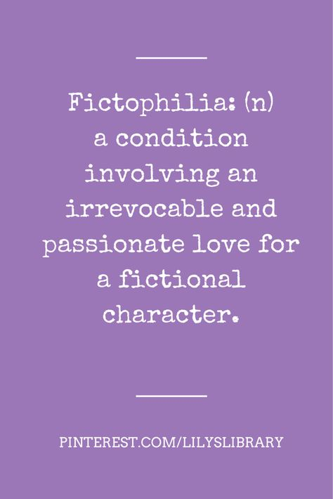Book boyfriends – Love fictional characters