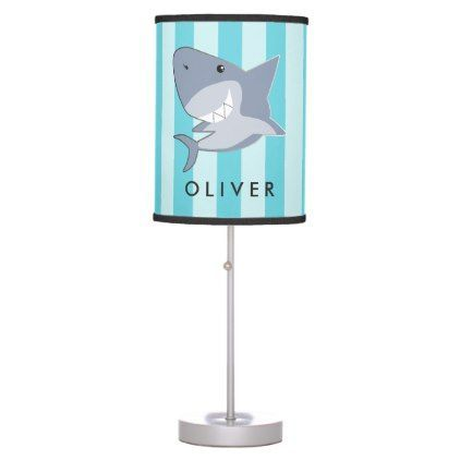 Finding The Perfect Lamp For Your Home Can Be Difficult Since There Is Such A Variety Of Lamps Available You Will Fi Shark Boys Room Boy S Room Boy Room Table