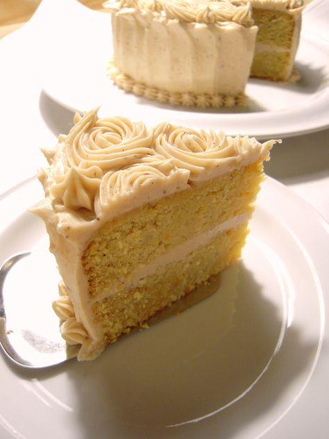 smörkräm på tårta