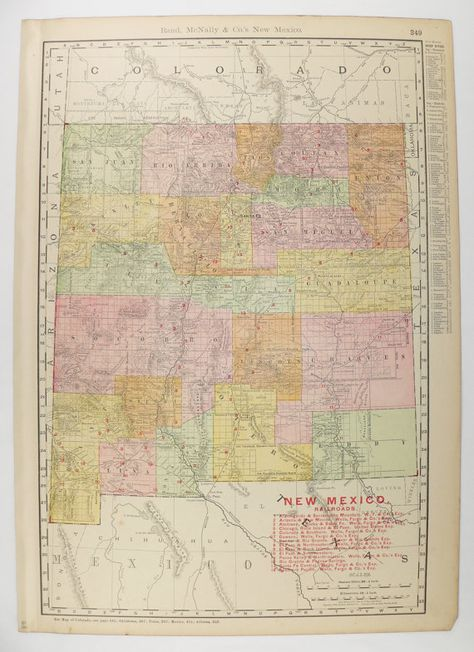 Hal Shelton Revisited Introduction Washington County Maps And - Southwest us map