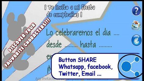 happy birthday invitation card with photo whatsapp Happy