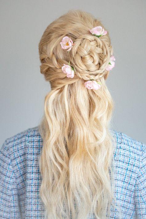 Haarbluten Sophiana Flechtfrisuren Braut Flechtfrisuren Haare