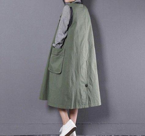 Women's Vest Big Size Large Pocket Loose Long Outwear for Spring Summer #womensfashionforsummerwebsite