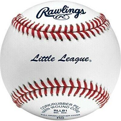 Advertisement Ebay Rawlings Little League Competition Grade Youth Baseballs Box Of 12 Rllb1 Little League Youth Baseball League