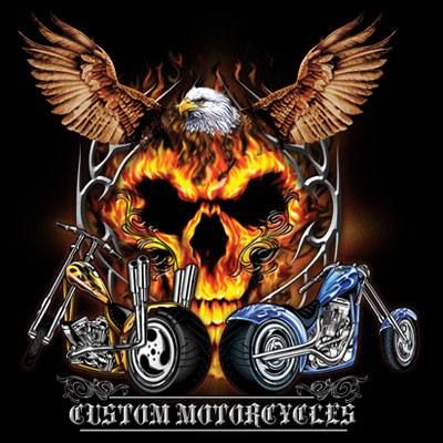 Biker T Shirt Eagle Skull Rides Tee In 2020 Harley Davidson Photos Harley Davidson Art Harley Davidson Gifts