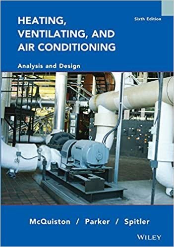 Heating Ventilating And Air Conditioning Analysis And Design 6th Edition Ventilation Air Conditioning System Design Design