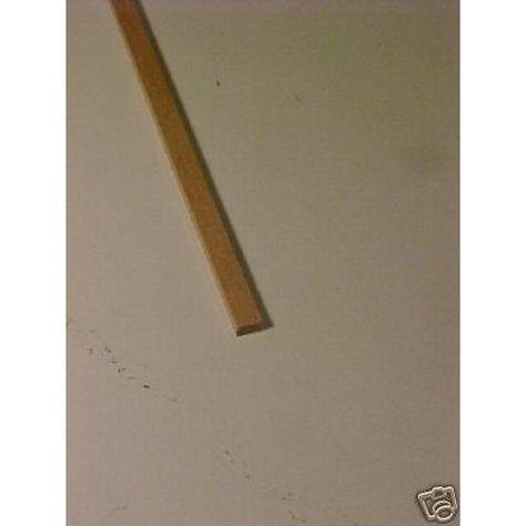 "1//4 x 7//8  x 23/"" Model Lumber supplies basswood architect  craft   1pc"