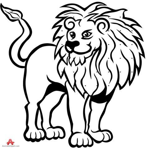 Lion black. Pinterest