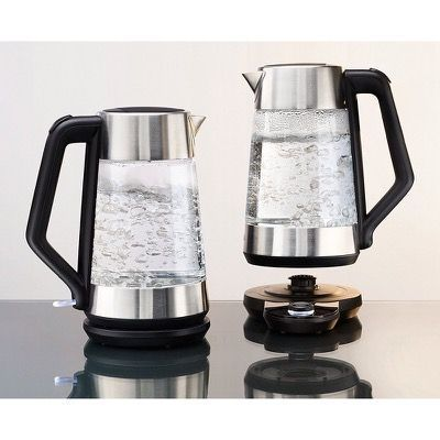 Oxo Cordless Electric Glass Kettle About 1 75l Stainless Steel Keep It Simple Kitchen Tools Electric Kettle Stainless Steel Kitchen Kitchen Dishes