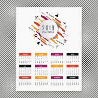 Calendario El Grafico 2019 Pdf.Calendarios 2019 Gratis Para Imprimir Pdf Word Excel
