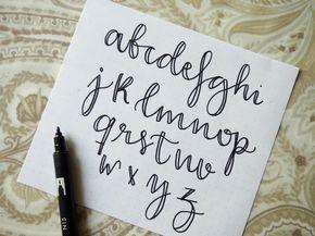 Practiquemos Lettering Mis 3 Estilos De Letra Más Usados Estilos De Letras Tipos De Letras Tipos De Letras Abecedario