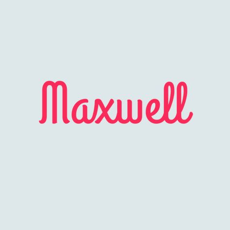 Maxwell - Traditional Boys' Names That Are Super Cute for Girls - Photos