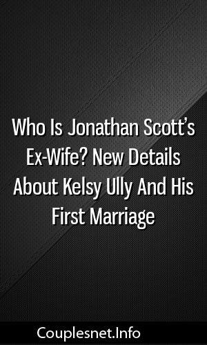 Jonathan Scott Wife Kelsy Ully