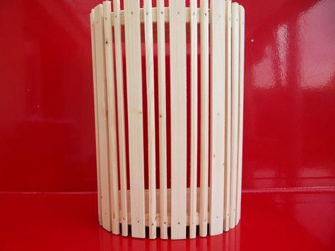 Saunaleuchte Saunalampe Saunalicht Sauna Lampe Holzblendschirm Lampenschirm