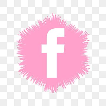 Facebook Pink Icon Vector Pink Clipart Face Book Png And Vector With Transparent Background For Free Download Logo Design Free Templates Logo Design Free Facebook Logo Png