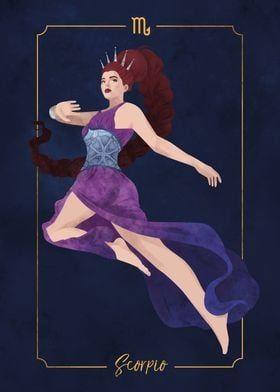 'Scorpio' Poster by Liza Sou   Displate
